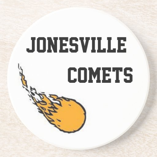 Jonesville Comet Sandstone Coasters