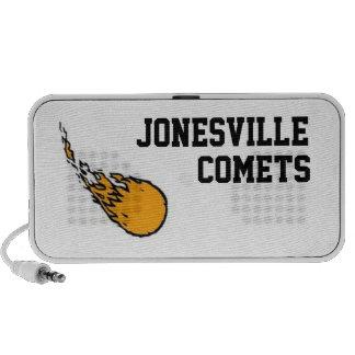 Jonesville Comets Doodle Speakers!