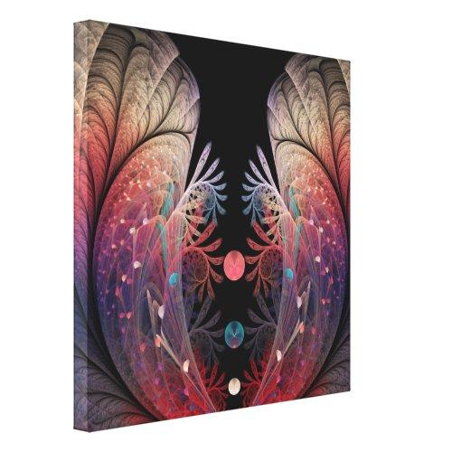 Jonglage Abstract Modern Fantasy Fractal Art Canvas Print