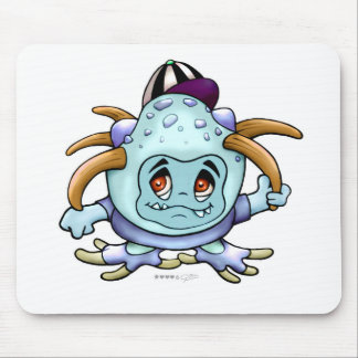JONI PITTY MONSTER CARPET MOUSE MOUSE PAD