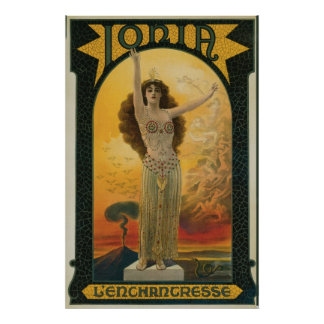 Jonia la magia del misticismo del ~ de la póster