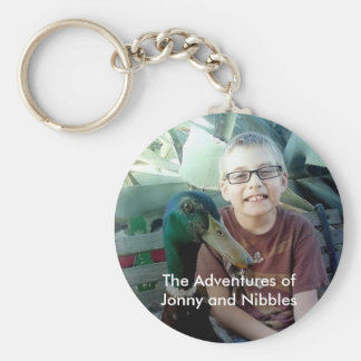 Jonny and Nibbles Keychain