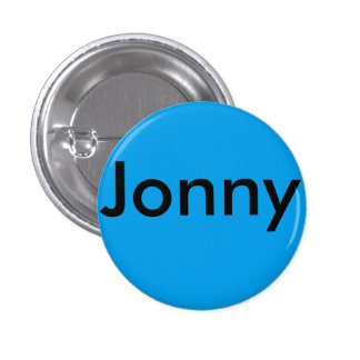 Jonny broklyn football bage pinback button