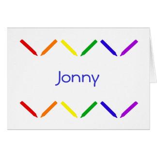 Jonny Greeting Cards