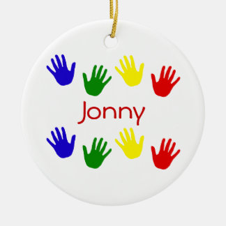 Jonny Ceramic Ornament