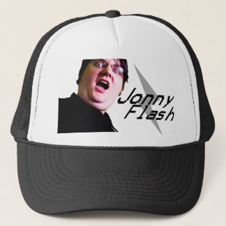 Jonny Flash Hat: Shock Trucker Hat
