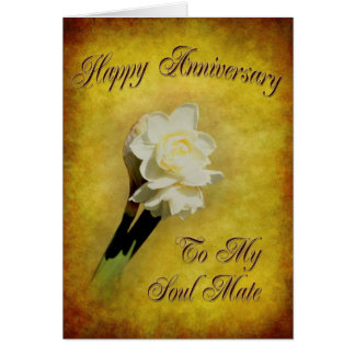 Jonquil Anniversary Card
