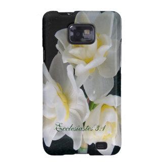Jonquil Flower - Ecclesiastes 3:1 Galaxy SII Case