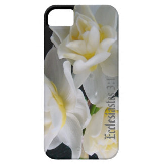 Jonquil Flower - Ecclesiastes 3:1 iPhone 5 Covers