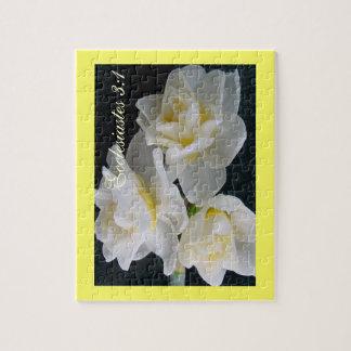 Jonquil Flower - Ecclesiastes 3:1 Jigsaw Puzzles