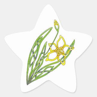 Jonquil Star Sticker
