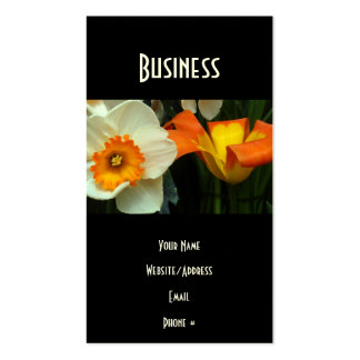 Jonquil Tulips Business Card
