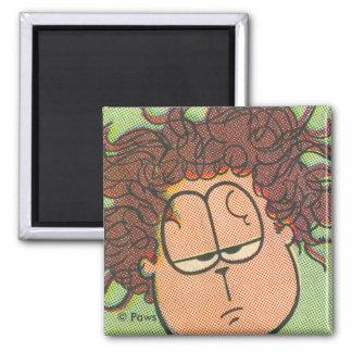 Jon's Bad Hair Day, magnet