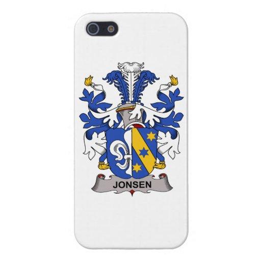 Jonsen Family Crest iPhone 5/5S Cases