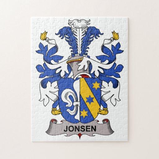 Jonsen Family Crest Puzzles