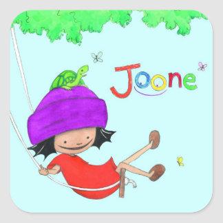 Joone square stickers