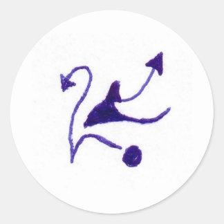 Joonte Round Stickers