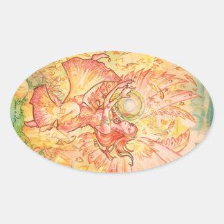 Jophiel Oval Sticker