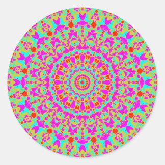 Joplin Kaleidoscope Classic Round Sticker