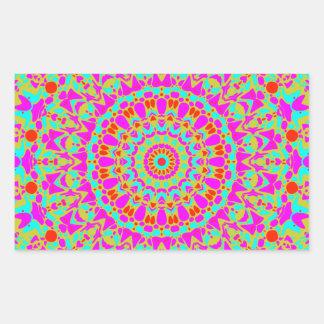 Joplin Kaleidoscope Rectangular Sticker