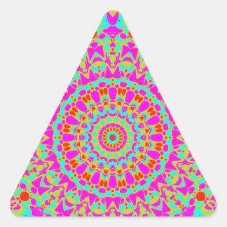 Joplin Kaleidoscope Triangle Sticker