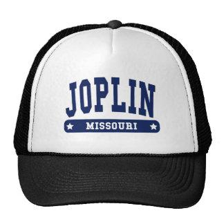 Joplin Missouri College Style tee shirts Mesh Hats