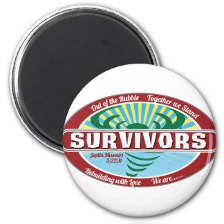 Joplin Survivor 2 Inch Round Magnet