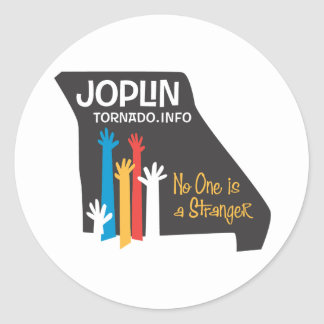 joplin Tornado Classic Round Sticker