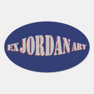 Jordan Bar Mitzvah Custom Stickers