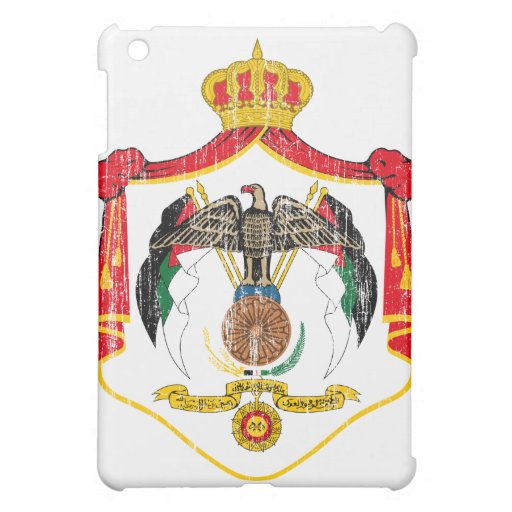 Jordan Coat Of Arms Cover For The iPad Mini