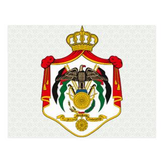 Jordan Coat of Arms detail Postcards