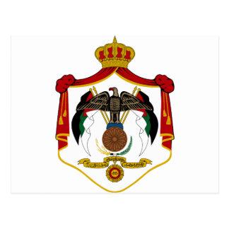 Jordan Coat of Arms Postcard