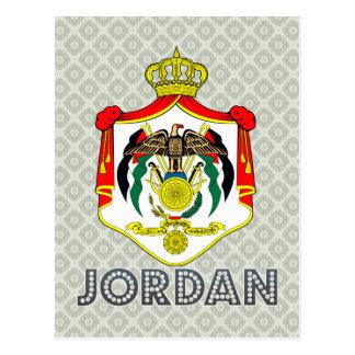 Jordan Coat of Arms Postcards