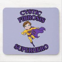 Jordan...Cystic Fibrosis Superhero Mouse Pad