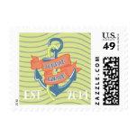 Jordan + Dalton's Thank you stamps
