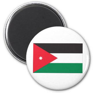 Jordan Flag 2 Inch Round Magnet
