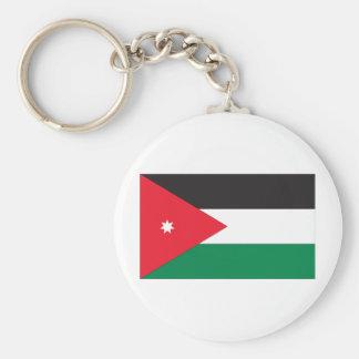 Jordan Flag Basic Round Button Keychain