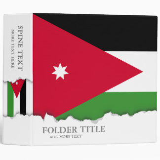 Jordan Flag Binder