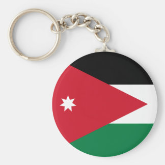 Jordan Flag Keychain