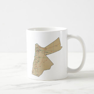 Jordan Flag ~ Map Mug