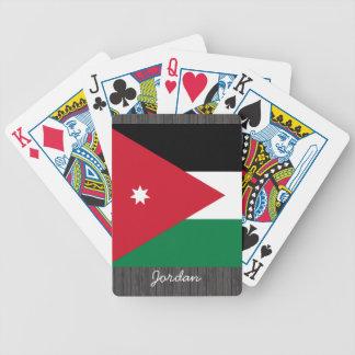 Jordan Flag pillow Bicycle Playing Cards