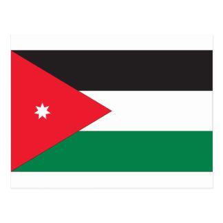 Jordan Flag Postcard