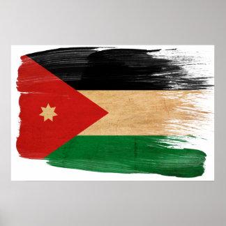 Jordan Flag Posters