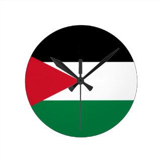Jordan Flag Round Clock