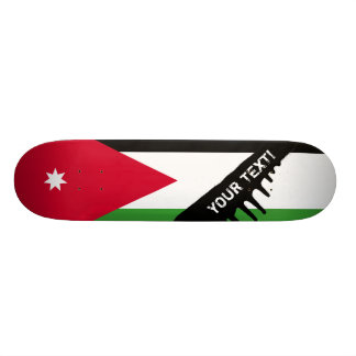 Jordan Flag Skateboard