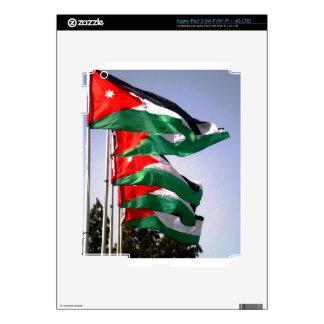 Jordan Flag Decals For iPad 3