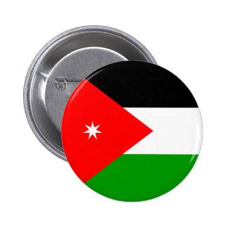 Jordan High quality Flag Pinback Button
