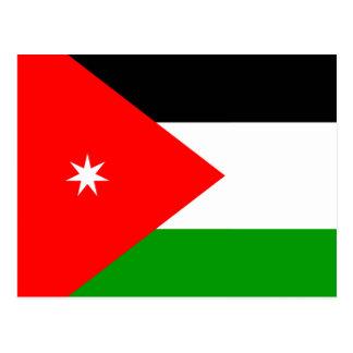 Jordan High quality Flag Postcard