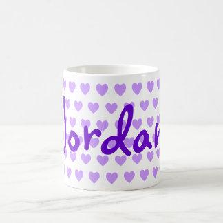 Jordan in Purple Coffee Mug