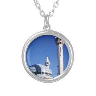 Jordan King Abdullah I Mosque Round Pendant Necklace